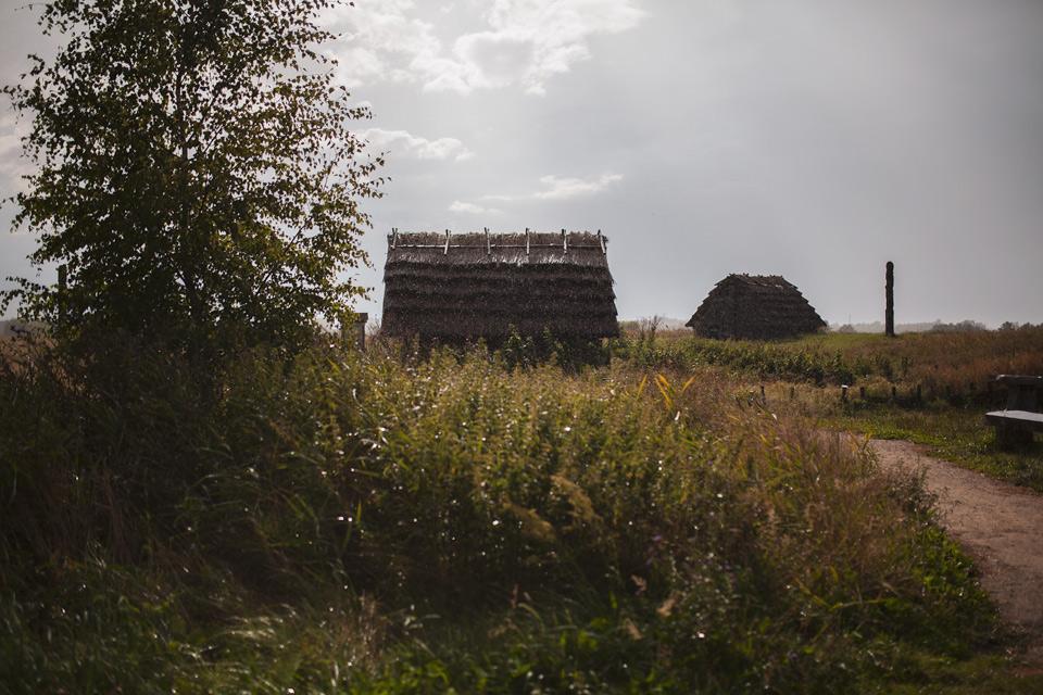 Budowa piec chlebowego i szklarskiego w Grodzisku Żmijowiska