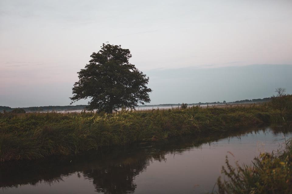 Grodzisko Żmijowiska, rzeka Chodelka