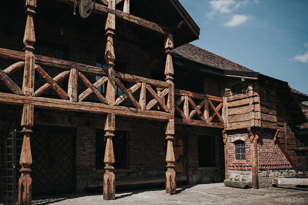 Detale i wykończenia w Zamku Stara Baśń