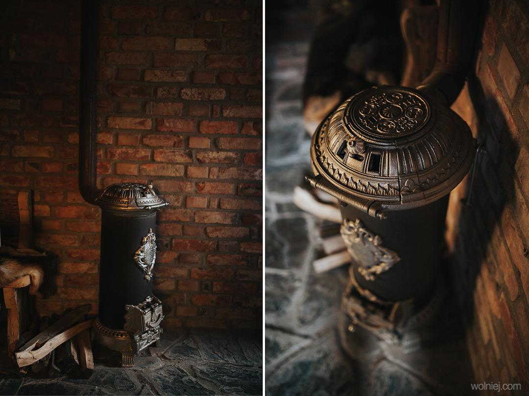 Piecyk w zamku Stara Baśń