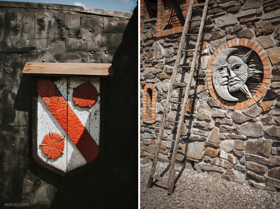 detale w zamku Stara Baśń