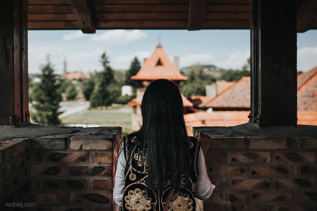 Wieża w zamku Stara Baśń