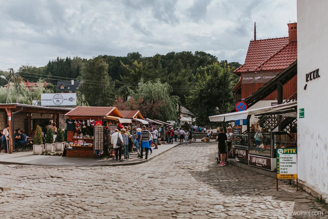 stragany w Kazimierzu Dolnym