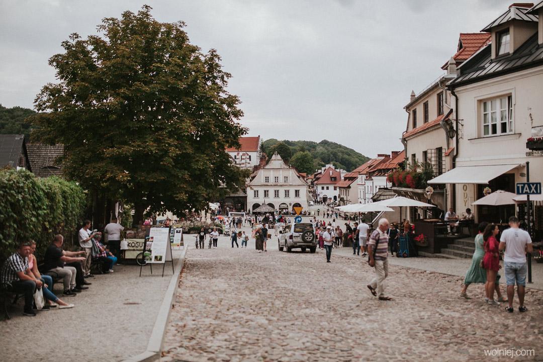 Plac rynku głónego w Kazimierzu Dolnym
