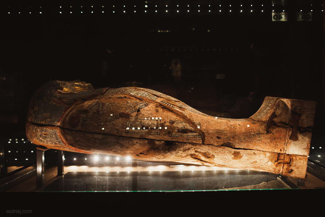 Sarkofag w Muzeum Archeologicznym w Krakowie