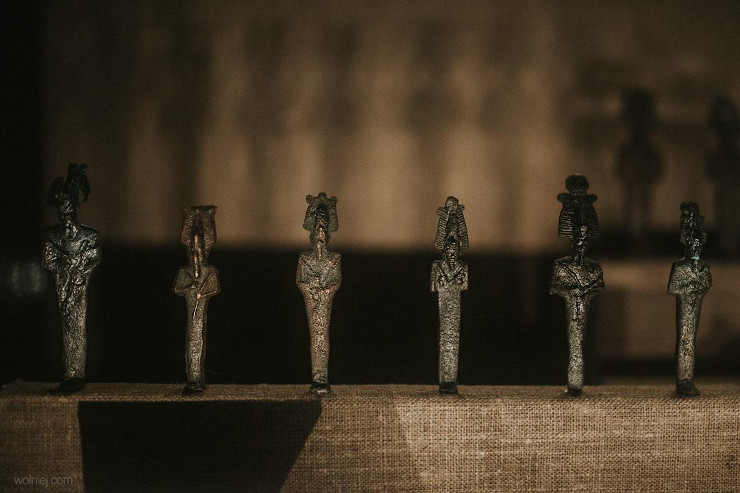 Figurki w Muzeum Archeologicznym w Krakowie