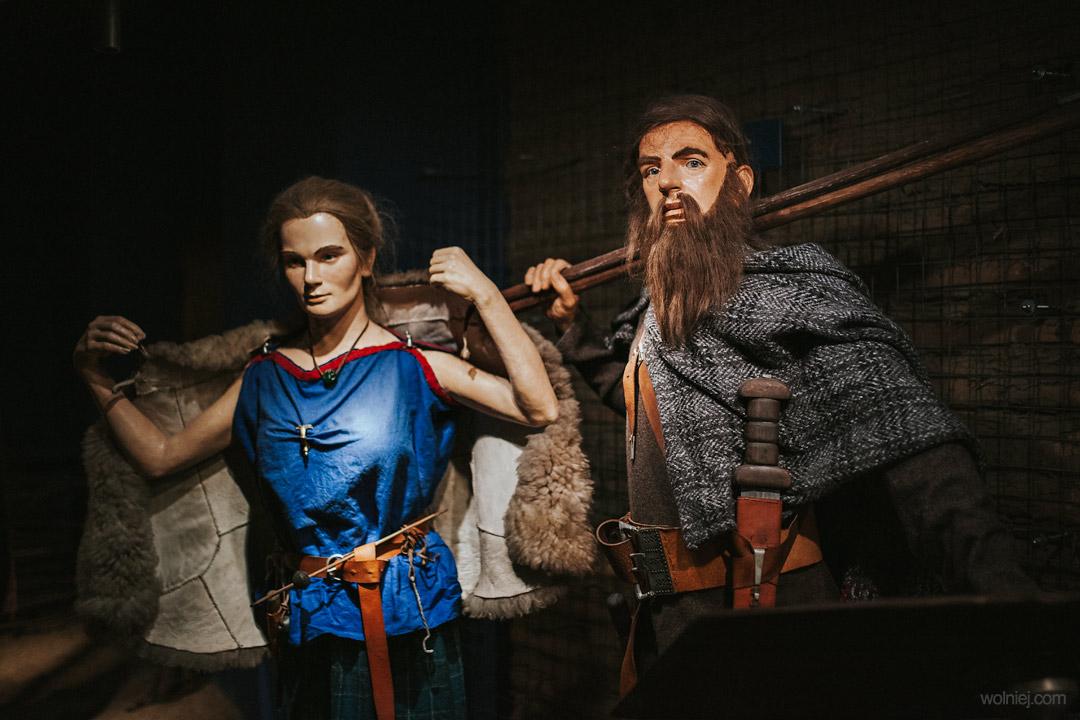 Postacie w Muzeum Archeologicznym w Krakowie