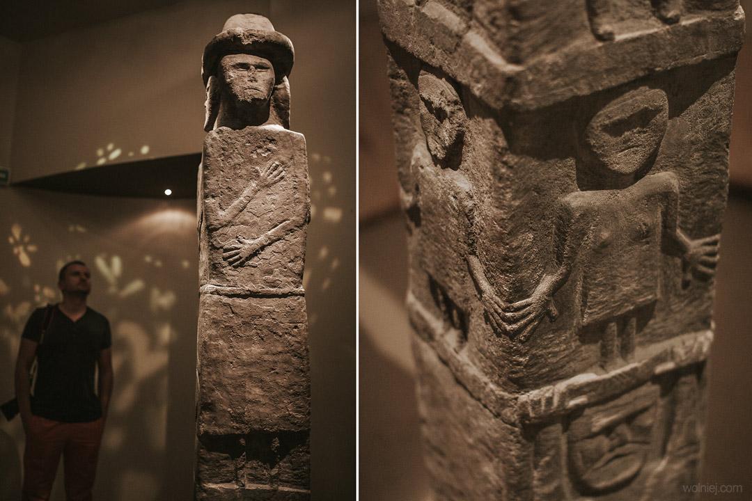 Światowid ze Zbrucza w Muzeum Archeologicznym w Krakowie