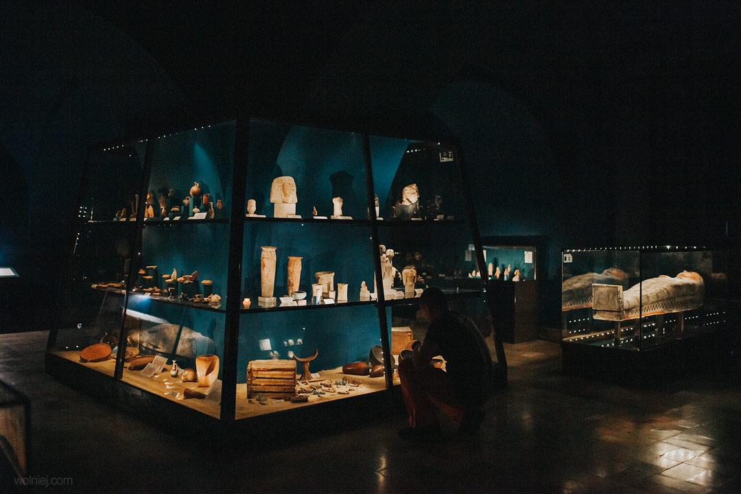 wystawy egipskie w Muzeum Archeologicznym w Krakowie