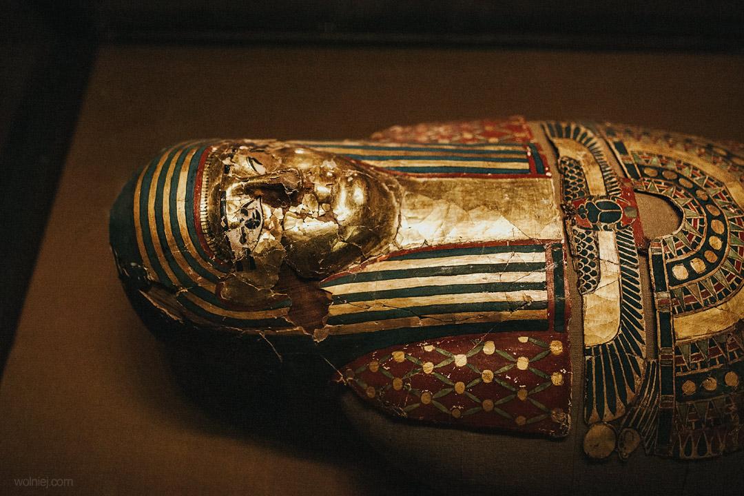 mumia w Muzeum Archeologicznym w Krakowie