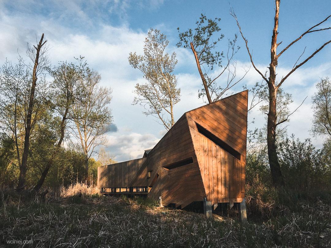 Budynek obserwacyjny na Bobrowisach, Stary Sącz