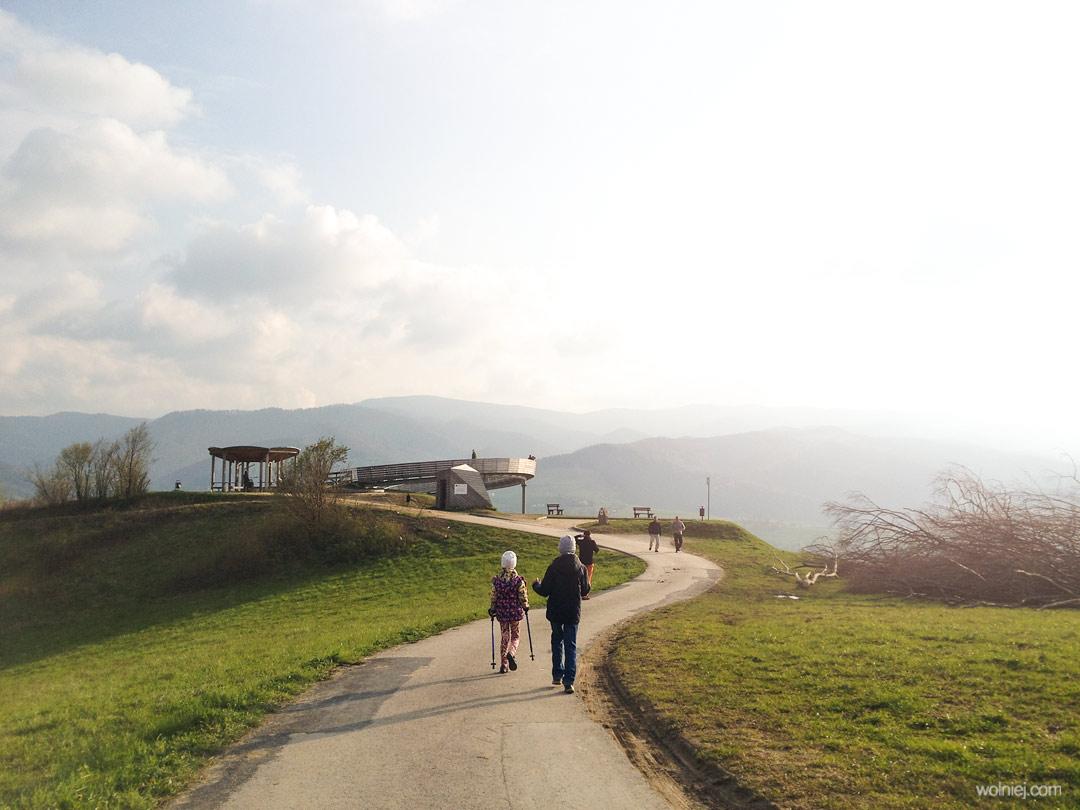 Ślimak, platforma widokowa w Woli Kroguleckiej